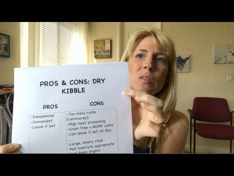 Pet Food Dry Kibble Pros and Cons