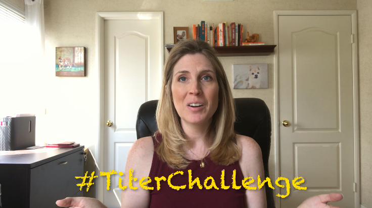 What is a titer test?